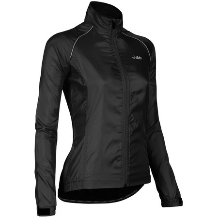 dhb Women's Active Waterproof Cycle Jacket - UK 14 Black