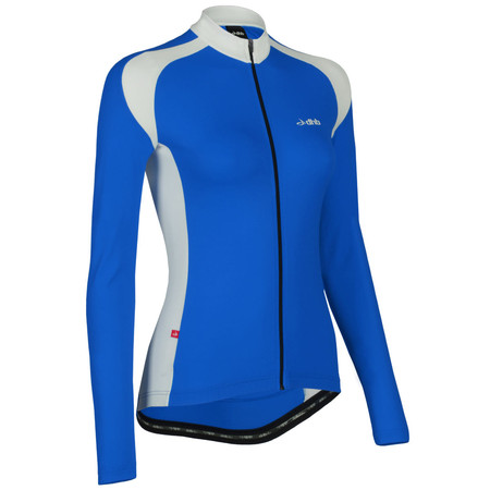 dhb Women's Clip Long Sleeve Jersey - UK 14 Blue