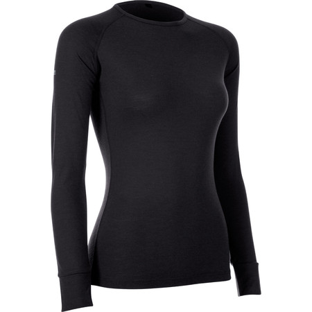 dhb Women's Merino Long Sleeve Base Layer M_200 - UK 8 Grey
