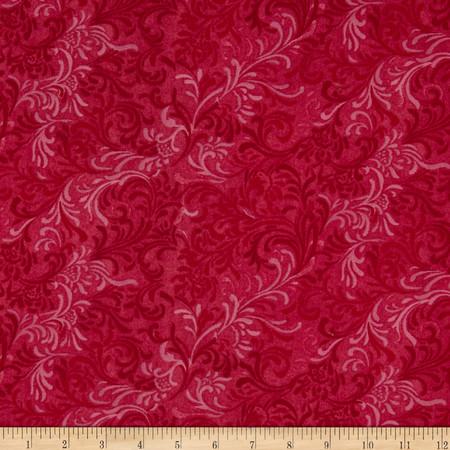 108'' Essential Flourish Quilt Backing Fuchsia Fabric