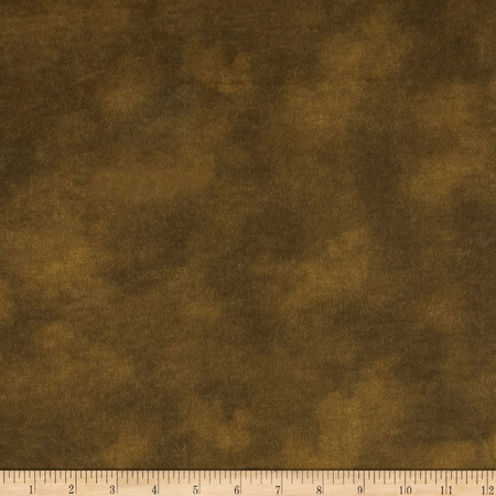 108'' Wide Flannel Mottled Chocolate Fabric By The Yard