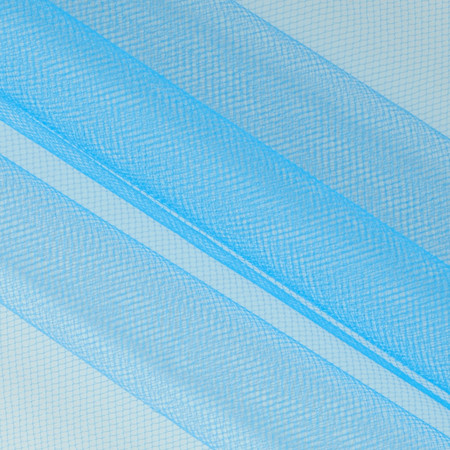 108'' Wide Nylon Tulle Turquoise Fabric By The Yard