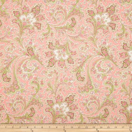 108'' Wide Quilt Back Rosemont Malabar Rose Fabric