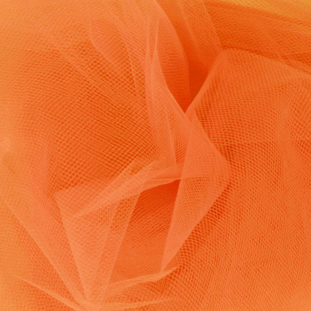 108'' Wide  Nylon Tulle Shrimp Fabric By The Yard