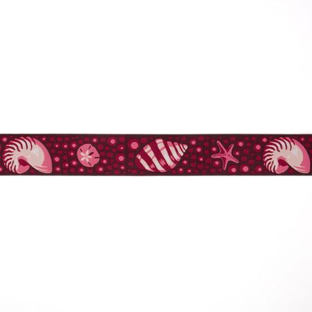 1-1/2'' Tula Pink Shells Ribbon Pink
