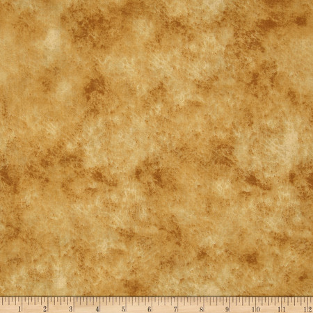 118'' Wide Quilt Backing Leather Texture Tan Fabric By The Yard