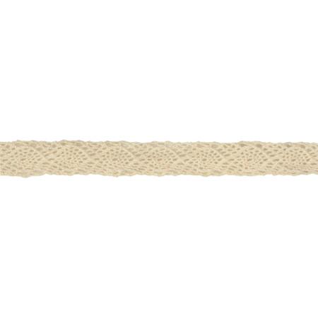 1/2'' Crochet Lace Ribbon Ivory