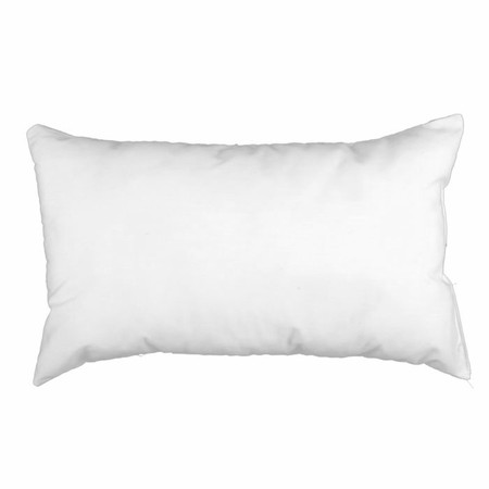 12'' x 20'' Indoor/Outdoor Poly Fill Pillow Form