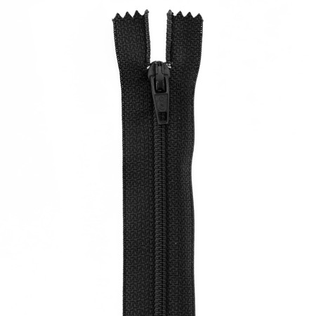 14'' Poly All Purpose Zipper Black