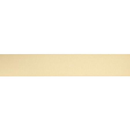 1 1/2'' Grosgrain Solid Ribbon Cream