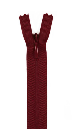 20/22'' Poly Invisible Zipper Barberry Red