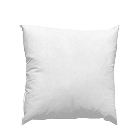 20'' x 20'' Feather/Down Pillow Form White