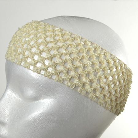2 3/4'' Crochet Headband Ivory