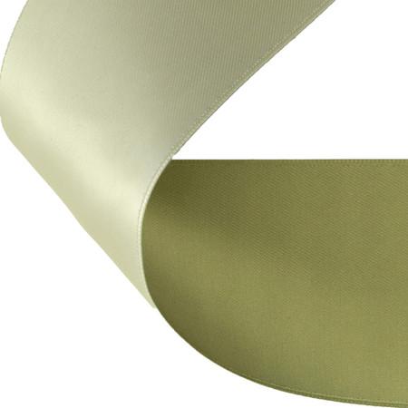 2'' Satin Reversible Ribbon Olive/Sage