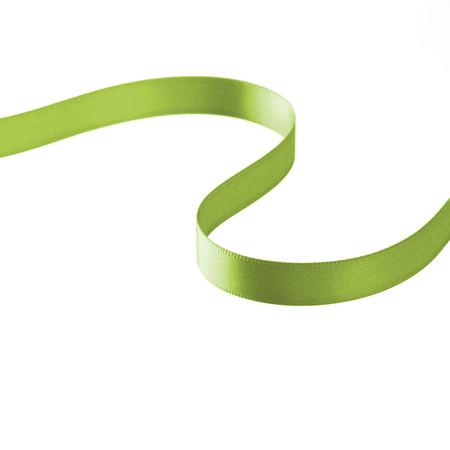 3/8'' Double-sided Satin Ribbon Celery