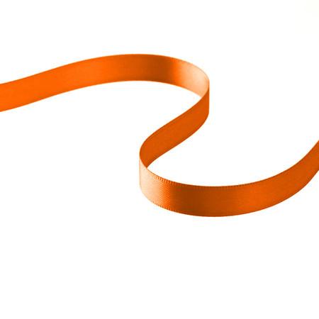 3/8'' Double-sided Satin Ribbon Orange
