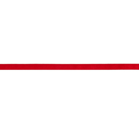 3/8'' Grosgrain Solid Ribbon Red
