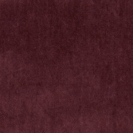 45'' Alpine Cotton Velvet Burgundy Fabric