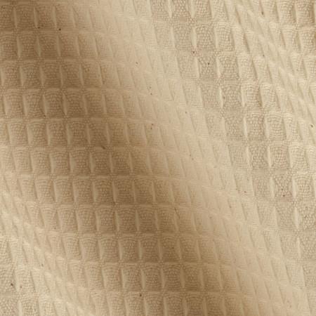 45'' Waffle Cloth Natural Fabric