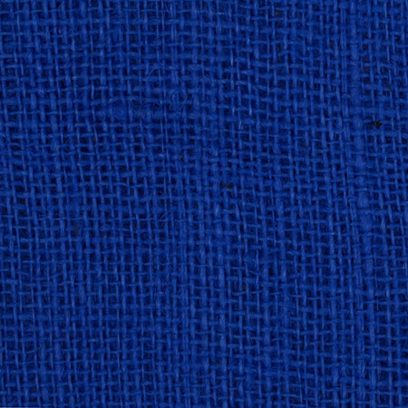 47'' Shalimar Burlap Ecliptic Blue Fabric By The Yard