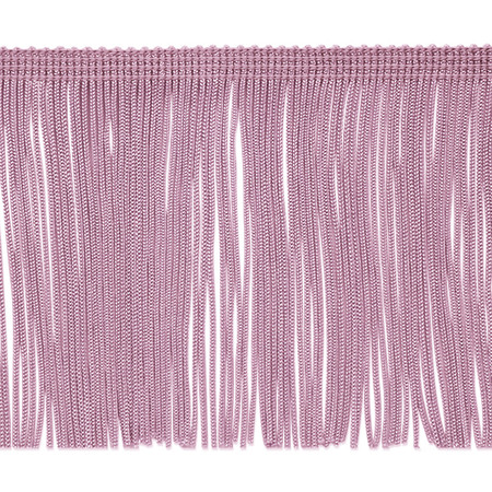 4'' Chainette Fringe Trim Lilac