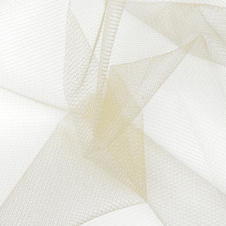 54'' Diamond Net Ivory Fabric