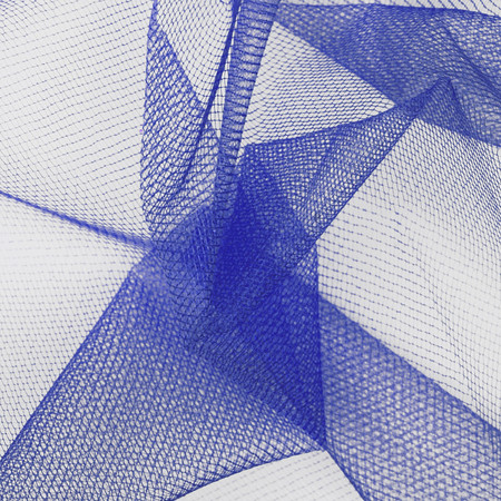 54'' Diamond Net Royal Fabric By The Yard