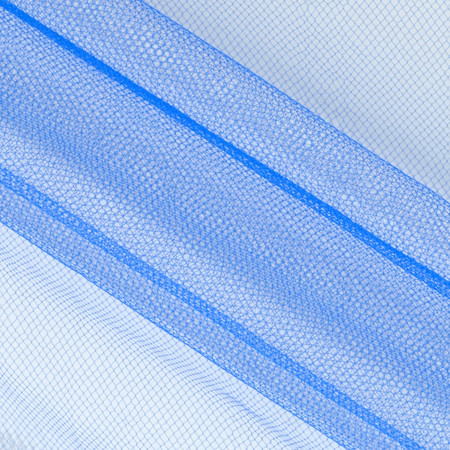 54'' Wide Nylon Tulle Regal Royal Fabric By The Yard