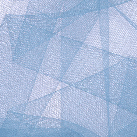 54'' Wide Tulle French Blue Fabric By The Yard
