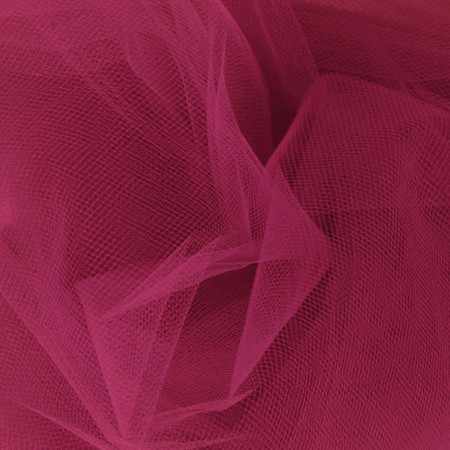 54'' Wide Tulle Light Garnet Fabric By The Yard