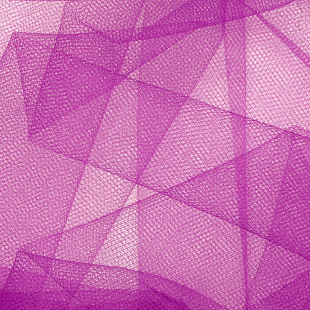 54'' Wide Tulle Purple Fabric By The Yard
