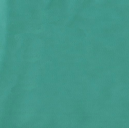 54'' Wide Tulle Teal Fabric By The Yard