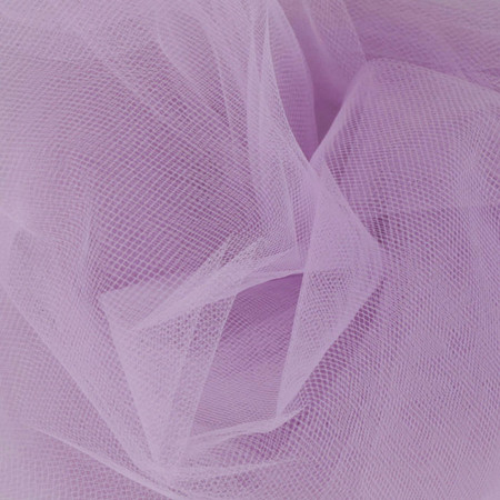 54'' Wide Tulle Wisteria Fabric By The Yard