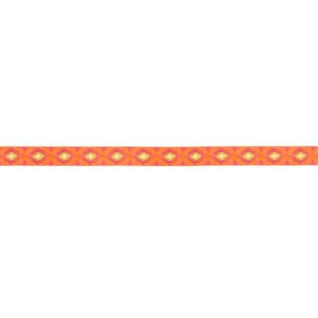5/8'' Dena Designs Ikat Ribbon Orange