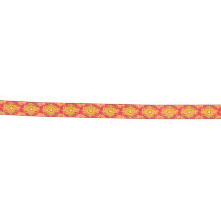 5/8'' Dena Designs Ikat Ribbon Pink