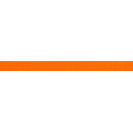5/8'' Grosgrain Solid Ribbon Orange