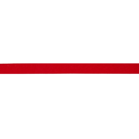 5/8'' Grosgrain Solid Ribbon Red