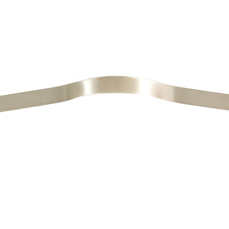 5/8'' Offray Single Face Satin Ribbon Cream