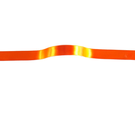 5/8'' Offray Single Face Satin Ribbon Orange