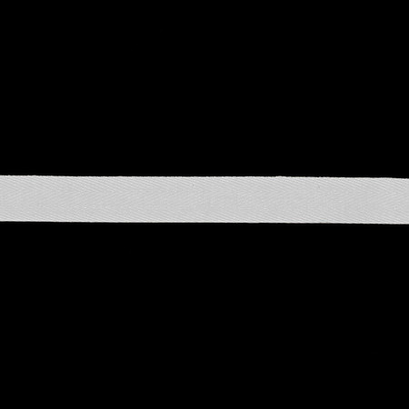 5/8'' Twill Tape Ribbon White