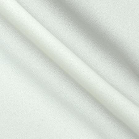 60'' Crepe Off White Fabric