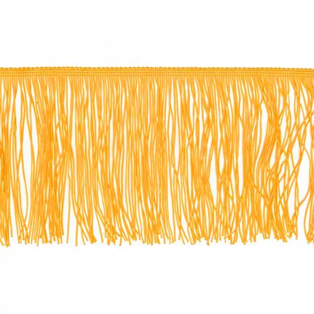 6'' Chainette Fringe Trim Yellow Gold