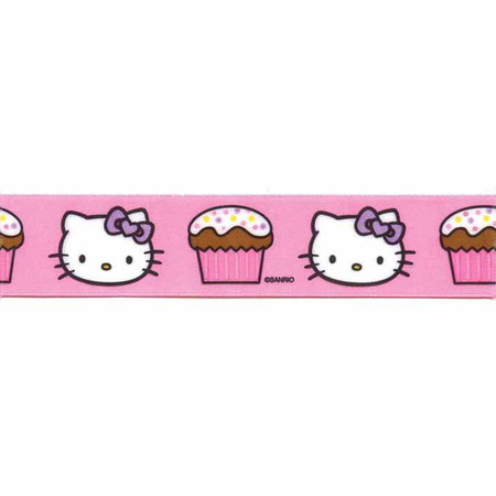 7/8'' Hello Kitty Cupcake Ribbon Pink