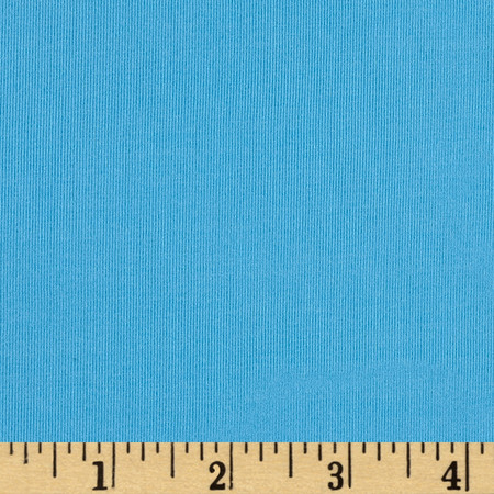 Activewear Knit Solid Carolina Blue Fabric