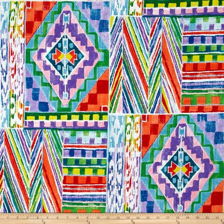 Alexander Henry Folklorico Ranchera Serape Multi/Brite Fabric By The Yard