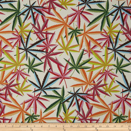 Alexander Henry Nicole's Prints Herb Natural/Multi Fabric By The Yard