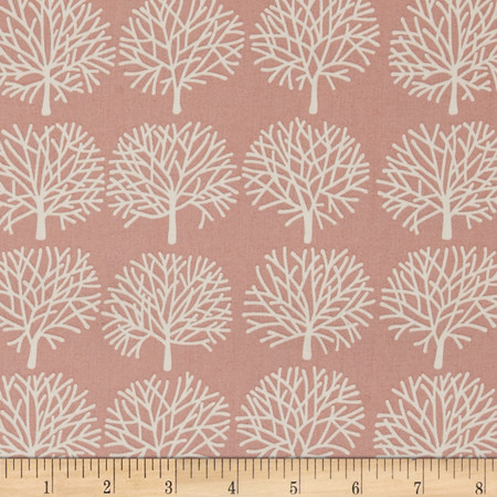 Alexander Henry The Ghastlies Forest Misty Rose Fabric By The Yard