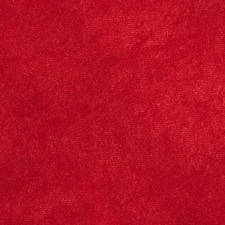 Alova Tricot Knit Costume Suede Red Fabric