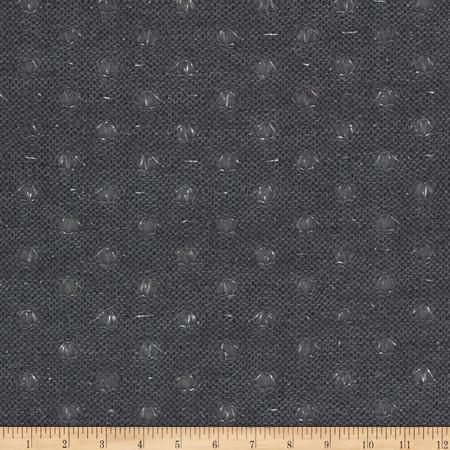 Amanda Knit Grey Fabric By The Yard
