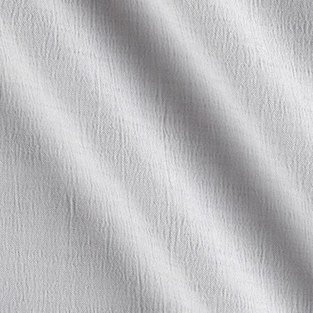 Amanda Polyester Shirting Silver Fabric